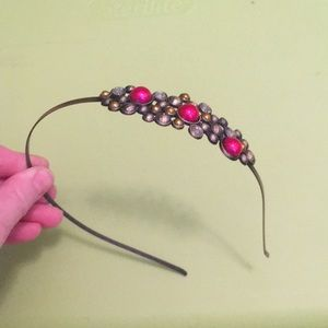 Accessories - Jeweled metal headband-Great for Prom